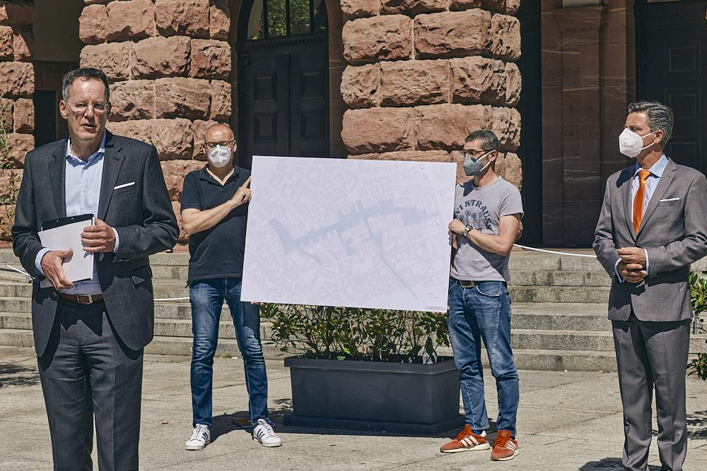 Initiative Breitscheidplatz, Pressekonferenz Mainz, Fotografie Harriet Esther Muntean